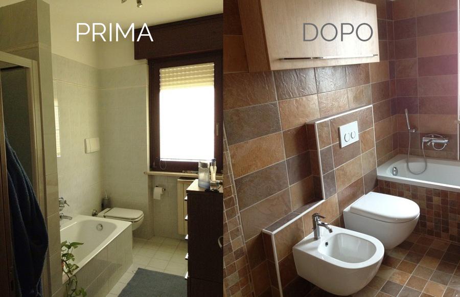 Idee per rifare il bagno idea creativa della casa e dell for Idee ristrutturazione appartamento